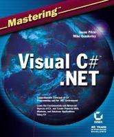 Mastering Visual C# .NET