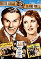 George Burns/Gracie Allen 3 Movies