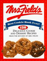 Mrs. Fields Best Cookie Book Ever!
