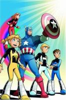The Avengers and Power Pack Assemble