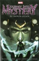 Journey Into Mystery by Kieron Gillen