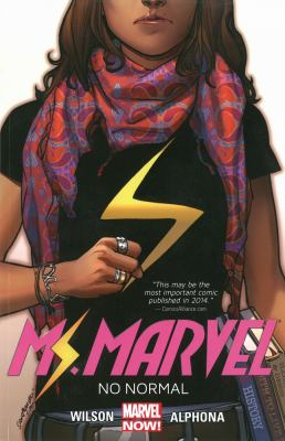 Ms Marvel book cover