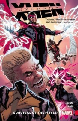Cover image for Uncanny X-men
