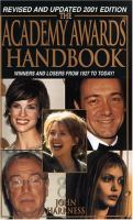 The ... Academy Awards Handbook