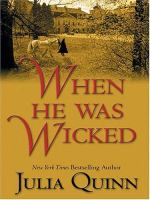 When He Was Wicked