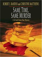 Same Time, Same Murder