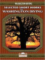 Selected Short Works by Washington Irving