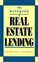 The Handbook of Real Estate Lending