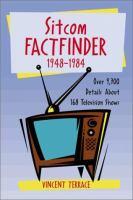 Sitcom Factfinder, 1948-1984