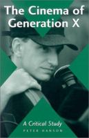 The Cinema of Generation X