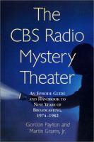 The CBS Radio Mystery Theater