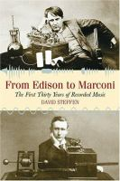 From Edison to Marconi