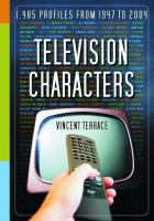 Television Characters