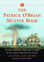 The Patrick O'Brian Muster Book
