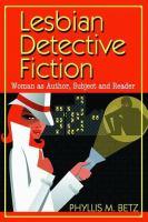 Lesbian Detective Fiction