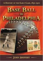 Base Ball in Philadelphia