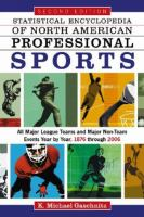 Statistical Encyclopedia of North American Professional Sports