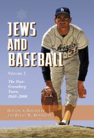 Jews and Baseball