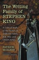 The Writing Family of Stephen King