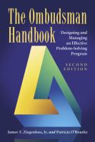 The Ombudsman Handbook