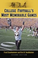 College Football's Most Memorable Games
