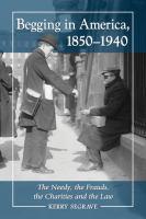 Begging in America, 1850-1940