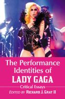 The Performance Identities of Lady Gaga