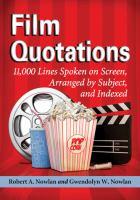 Film Quotations