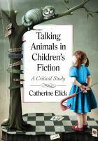 Talking Animals in Children's Fiction