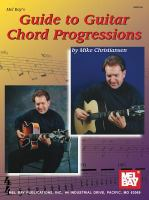 Mel Bay's Guide To Guitar Chord Progessions