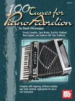 Mel Bay Presents 100 Tunes for Piano Accordion