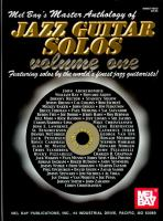 Mel Bay's Master Anthology of Jazz Guitar Solos