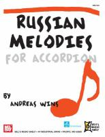 Russian melodies for accordion