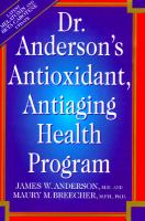 Dr. Anderson's Antioxidant, Antiaging Health Program