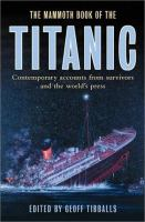 The Mammoth Book of the Titanic