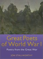 Great Poets of World War I