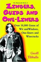The Mammoth Book of Zingers, Quips and One-liners