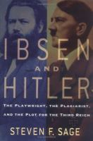 Ibsen and Hitler