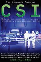 The Mammoth Book of Crime Scene Investigation
