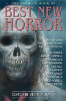 The Mammoth Book of Best New Horror