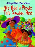 We Had A Picnic This Sunday Past