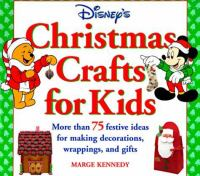 Disney's Christmas Crafts for Kids