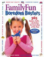 FamilyFun Boredom Busters