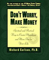 Dont' Worry Make Money