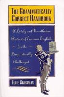 The Grammatically Correct Handbook