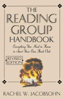The Reading Group Handbook