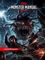 Monster manual.