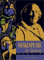 Shakespeare for Students, Book II