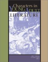 Characters in Young Adult Literature