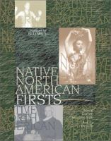 Native North American Firsts